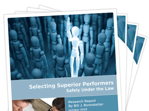 Selecting Superior Performers