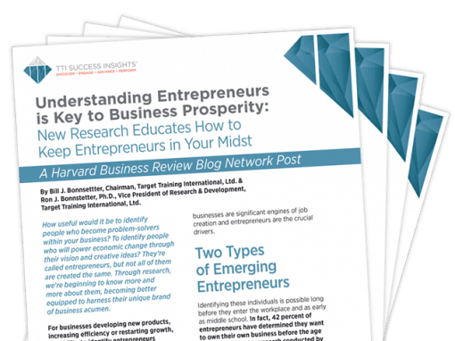 Understanding Entrepreneurs is Key to Business Prosperity