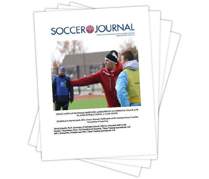 Application of Business-Oriented Assessments to Improve Coach and Player Interactions