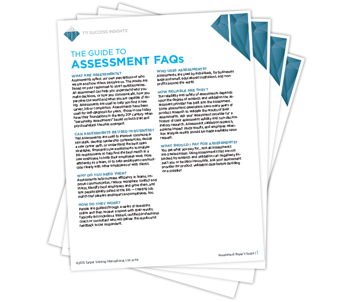 The Guide to Assessment FAQ's