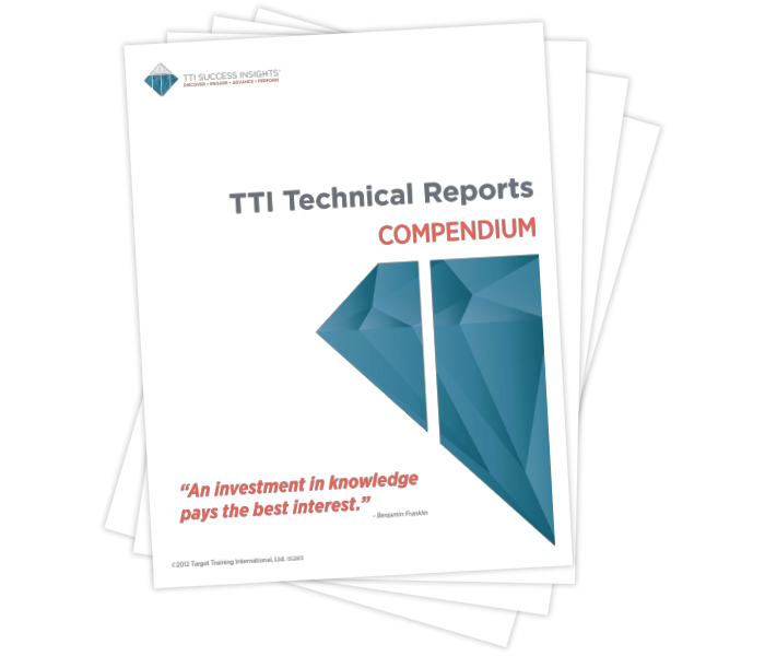 TTI Technical Reports Compendium (In Revision)