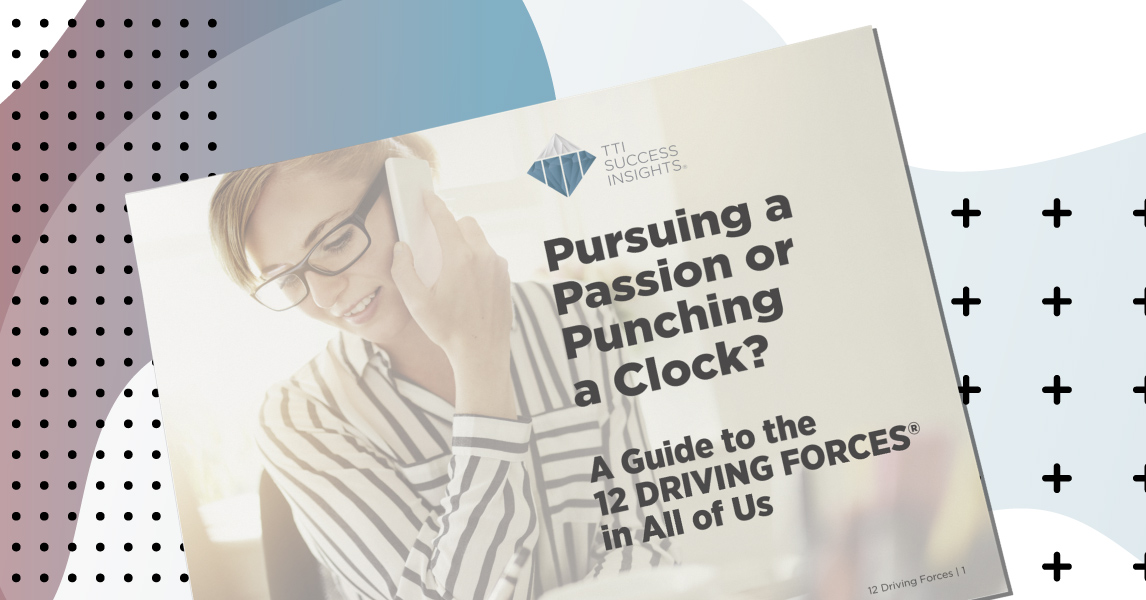 Pursuing a Passion or Punching a Clock