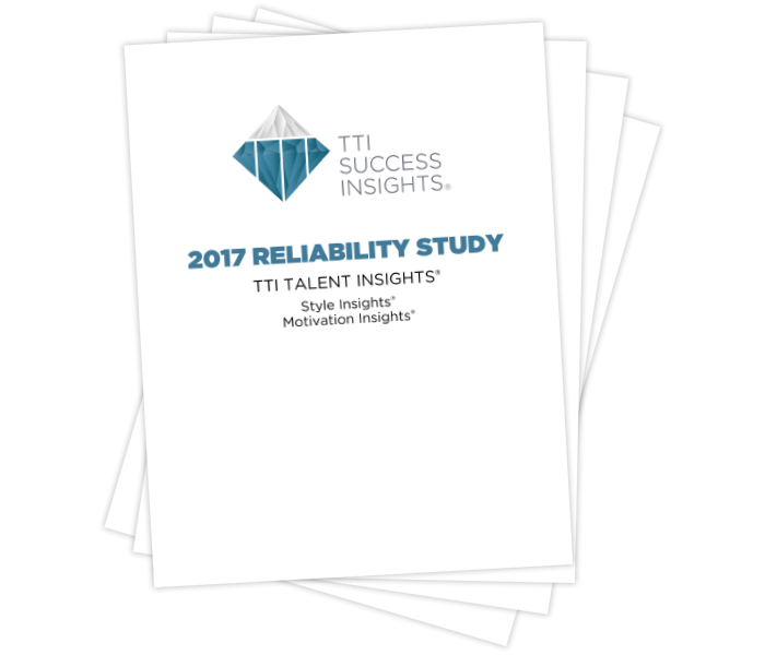 Talent Insights® 2017 Reliability Study